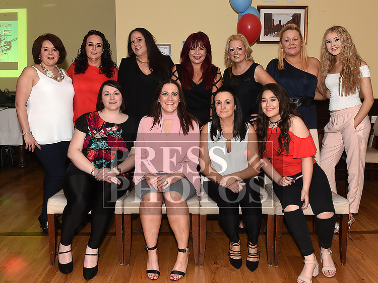 Team Sister Act, Joanne Keogh, Mona Bedford, Melissa White, Louise McDonnell, Carol Ryan, Karen Dyer, Tara Hughes, Audrey Simpson, Noelle Kierans, Catherine Vaughey and Alanah McArdle. Missing from photo Donna McEnteggart, Geraldine Conlon, Michala Byrne and Noelle Linevickius. Photo:Colin Bell/pressphotos.ie