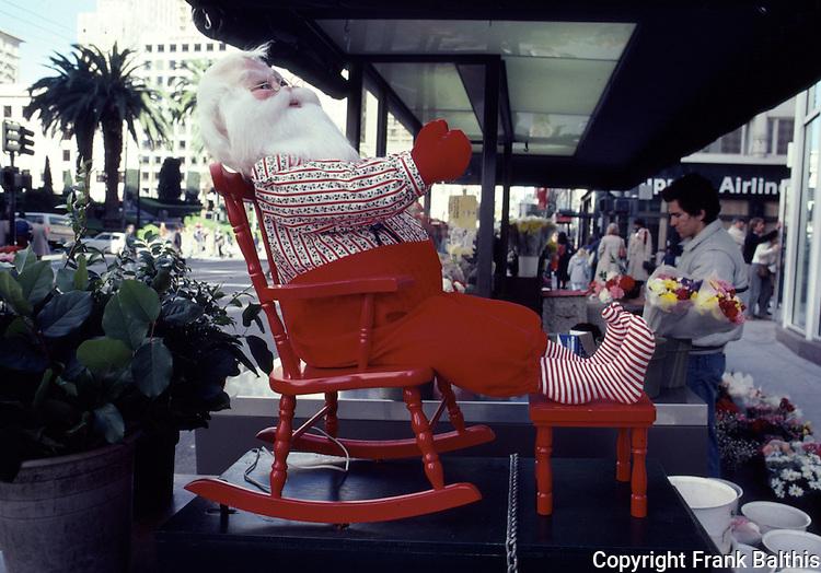 Santa on Union Square