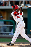 Travis Witherspoon of the Orem Owlz (2009 Pioneer League) playing against the Casper Ghosts in Orem, UT - 07/26/2009..Photo by:  Bill Mitchell/Four Seam Images..