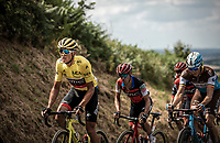 yellow jersey Greg Van Avermaet (BEL/BMC)<br /> <br /> Stage 5: Lorient > Quimper (203km)<br /> <br /> 105th Tour de France 2018<br /> ©kramon