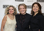 Alison Fraser, Charles Busch and Jennifer Van Dyck attends the Gingold Theatrical Group's Golden Shamrock Gala at 3 West Club on March 16, 2019 in New York City.