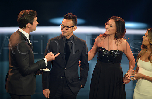 09.01.2017. Zurich, Switzerland.  German former footballer Nadine Kessler and Japanese former footballer Hidetoshi Nakata pictured at the FIFA World Players of the Year 2016 gala in Zurich, Switzerland, 9 January 2017.