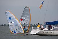 Medemblik - the Netherlands, May 26th 2010. Delta Lloyd Regatta in Medemblik (26/30 May 2010). Day 2