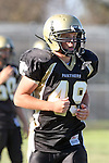 Palos Verdes, CA 10/02/09 - The Vista Murietta Broncos visited the Peninsula Panthers in a non-league contest, won 43-21 by Vista Murietta.  In action are Tommy Webster (#49)