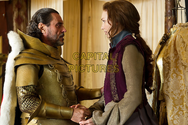IAN McSHANE & ELEANOR TOMLINSON.in Jack the Giant Slayer (2013) .*Filmstill - Editorial Use Only*.CAP/NFS.Supplied by Capital Pictures.