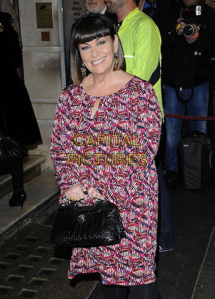 Dawn French attends the &quot;Photograph 51&quot; press night, Noel Coward Theatre, St Martin's Lane, London, England, UK, on Monday 14 September 2015. <br /> CAP/CAN<br /> &copy;CAN/Capital Pictures