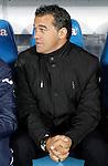 Getafe's coach Luis Garcia during La Liga match. November 26, 2011. (ALTERPHOTOS/Alvaro Hernandez)