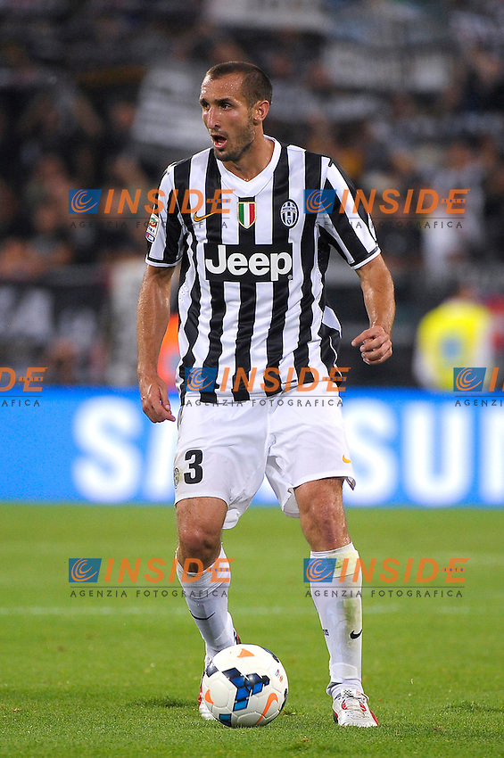 Giorgio Chiellini  Juventus<br /> Torino 31-08-2013 Juventus Stadium<br /> Football Calcio 2013/2014 Serie A<br /> Juventus Vs Lazio<br /> Foto Federico Tardito Insidefoto