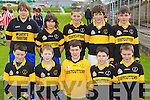 Gaelscoil Aogain Castleisland under 12 team Primary Schools Football Finals at Austin Stack park on Thursday. front row Sean O Conaill, Jason de Brun, Darragh mac Curtain, Eamonn O Nuallain, Luca O Brosnachain.  Back row from left: Daithi O Laoire, Donal de Brun, Adam O Donnchu, Sean de Prionndaibheil, Tadhg Breathnach.