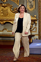 Minister of Labour Nunzia Catalfo<br /> Rome September 5th 2019. Quirinale. Swearing ceremony  of the new Italy's Government.<br /> Foto  Samantha Zucchi Insidefoto