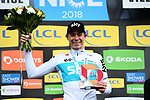 David De La Cruz (ESP) Team Sky wins Stage 8 of the 2018 Paris-Nice running 110km from Nice to Nice, France. 11th March 2018.<br /> Picture: ASO/Alex Broadway | Cyclefile<br /> <br /> <br /> All photos usage must carry mandatory copyright credit (&copy; Cyclefile | ASO/Alex Broadway)