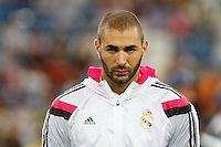 Benzema of Real Madrid during the Champions League group B soccer match between Real Madrid and FC Basel 1893 at Santiago Bernabeu Stadium in Madrid, Spain. September 16, 2014. (ALTERPHOTOS/Caro Marin) /NortePhoto.com