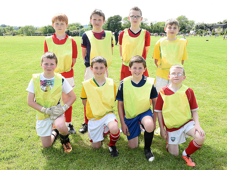 Ballapousta Yellow who took part in the Albion Rovers Soccer Blitz. Photo:Colin Bell/pressphotos.ie