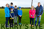 Members of the Ardfert Community Council at the site of the new planned sports facility for the Ardfert community.<br /> Front l-r, Barbara O&rsquo;Grady (Secretary) and Maurice O&rsquo;Driscoll (Chairman).<br /> Back l-r, Ursula Barrett, Keith O&rsquo;Mahoney, Dermot McCoy, Peter and Dylan O&rsquo;Mahoney.
