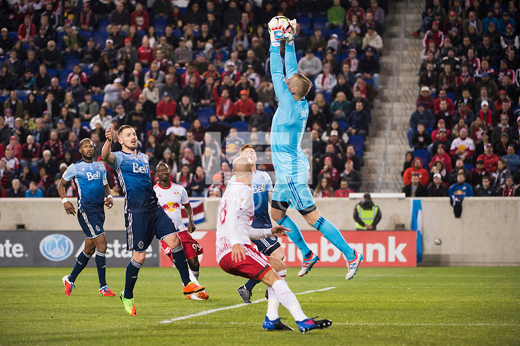 HARRISON, NJ - Saturday August 13, 2016: The New York Red Bulls take on the Montreal Impact at home at Red Bull Arena during the 2016 MLS regular season.