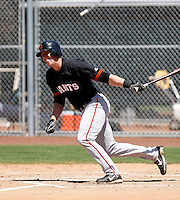 Ryan Mantle -  San Francisco Giants - 2009 extended spring training.Photo by:  Bill Mitchell/Four Seam Images