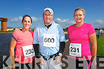 Darragh Stephenson, Paul Stephenson and Suzanne Chute pictured at the Rose of Tralee International 10k Race in Tralee on Sunday.