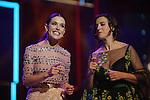 63 Premios Ondas.<br /> Gala de Entrega de los premios.<br /> Raquel Sanchez Silva & Llum Barrera.