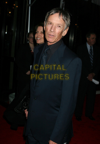"SCOTT GLEN.Premiere of ""United 93"" during the Fifth Annual Tribeca Film Festival at the Ziegfeld Theatre in New York City, NY, USA..April 25th, 2006.Ref: IW.Flight 93 half length blue suit jacket.www.capitalpictures.com.sales@capitalpictures.com.©Capital Pictures"