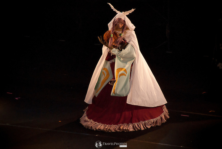 Spanish contestants roleplaying Romeo & Juliet at the World Cosplay Summit 2011. Copyright restrictions may apply on the comic character the cosplay fan is emulating.