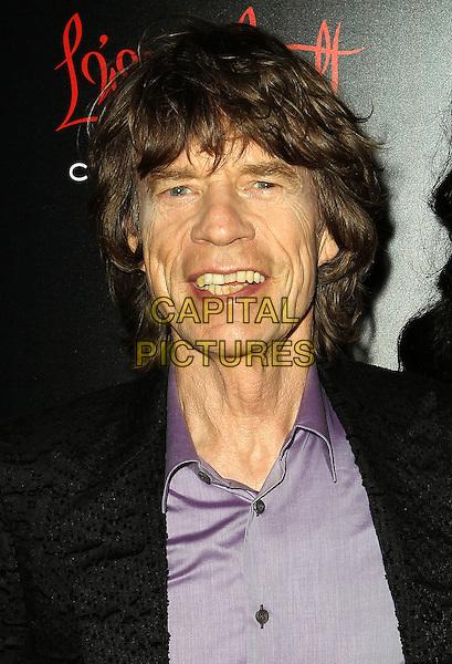 19 November 2013 - Los Angeles, California - Mick Jagger. <br /> Banana Republic L'Wren Scott Collection at Chateau Marmont. <br /> CAP/ADM/KB<br /> &copy;Kevan Brooks/AdMedia/Capital Pictures