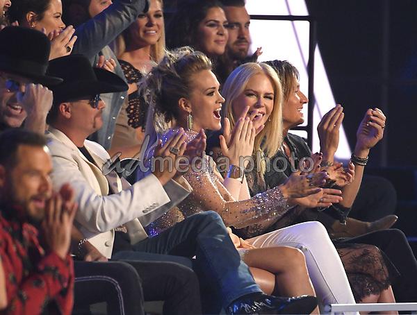 07 June 2017 - Nashville, Tennessee - John Rich, Carrie Underwood, Nicole Kidman, Keith Urban. 2017 CMT Music Awards held at Music City Center. Photo Credit: Laura Farr/AdMedia