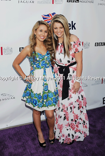 LOS ANGELES, CA - APRIL 26: Lauren Alaina and Casey Abrams attend the Champagne Launch Of 2011 BritWeek at British Consul General's Residence on April 26, 2011 in Los Angeles, California.