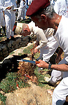 Samaria, the Samaritan Passover Sacrifice on Mount Gerizim&amp;#xA;<br />