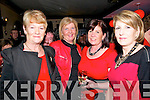 Ladies In Red, Men In Black : Attending the Abbefeale Community Development Association's Ladies In Red, Men In Black event at TJ O'Riordan's Bar, Abbeyfeale on Friday night were Bridie Collins, Patty O'Connell, Eileen Striker & Martina Keane.