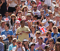 Ambience<br /> <br /> Tennis - The Championships Wimbledon  - Grand Slam -  All England Lawn Tennis Club  2013 -  Wimbledon - London - United Kingdom - Sunday 7th July 2013. <br /> &copy; AMN Images, 8 Cedar Court, Somerset Road, London, SW19 5HU<br /> Tel - +44 7843383012<br /> mfrey@advantagemedianet.com<br /> www.amnimages.photoshelter.com<br /> www.advantagemedianet.com<br /> www.tennishead.net