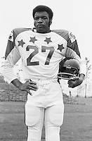Marv Luster 1970 Canadian Football League Allstar team. Copyright photograph Ted Grant