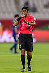 FIFA Referee Mohammed Abdulla Hassan in action during the AFC Asian Cup UAE 2019 Group F match between Japan (JPN) and Uzbekistan (UZB) at Khalifa Bin Zayed Stadium on 17 January 2019 in Al Ain, United Arab Emirates. Photo by Marcio Rodrigo Machado / Power Sport Images