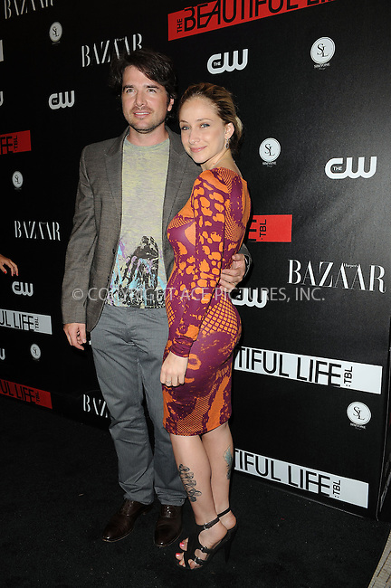 WWW.ACEPIXS.COM . . . . . ....September 12 2009, New York City....Matthew Settle and wife Naama Nativ at the CW Network party for the new series 'The Beautiful Life: TBL' at the Simyone Lounge on September 12, 2009 in New York City.....Please byline: KRISTIN CALLAHAN - ACEPIXS.COM.. . . . . . ..Ace Pictures, Inc:  ..tel: (212) 243 8787 or (646) 769 0430..e-mail: info@acepixs.com..web: http://www.acepixs.com