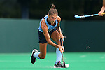 12 September 2014: North Carolina's Emily Wold. The University of North Carolina Tar Heels hosted the Syracuse University Orange at Francis E. Henry Stadium in Chapel Hill, North Carolina in a 2014 NCAA Division I Field Hockey match. UNC won the game 3-0.