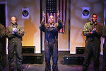 Guiding Light's Lawrence Saint-Victor star with Melvin Huffnagle & Thom Scott II in Black Angels Over Tuskegee on January 24, 2011 at the Actors Temple Theatre, New York City, New York. (Photo by Sue Coflin/Max Photos)