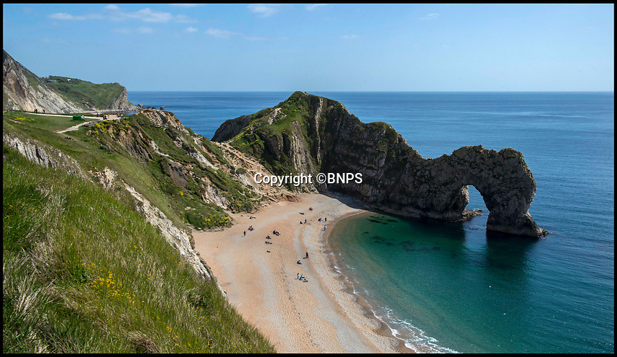 BNPS.co.uk (01202 558833)<br /> Pic: TomWren/BNPS<br /> <br /> Durdle Door.<br /> <br /> A country estate has been left red-faced after a poorly translated sign gave Hindi speaking visitors a very unwelcome surprise.