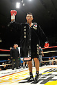 Takashi Uchiyama (JPN), DECEMBER 31, 2011 - Boxing : Takashi Uchiyama of Japan poses before the WBA super featherweight title bout at Yokohama Cultural Gymnasium in Kanagawa, Japan. (Photo by Hiroaki Yamaguchi/AFLO)