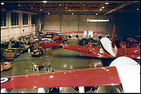 BNPS.co.uk (01202 558833)Pic: MichaelPrendergastQueens Flight hangar in 1986.<br /> <br /> A new book gives an intimate look behind the scenes of the Royal Flight and also the flying Royals.<br /> <br /> Starting in 1917 the book charts in pictures the 100 year evolution of first the King's Flight and then later the Queen's Flight as well as the Royal families passion for aviation.<br /> <br /> Author Keith Wilson has had unprecedented access to the Queen's Flight Archives to provide a fascinating insight into both Royal and aeronautical history.