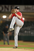 Pitcher Gabe Gunter (24) of Crestview High School participates in the Team One Futures Game East at Roger Dean Stadium on September 25, 2010 in Jupiter, Florida..  (Copyright Mike Janes Photography)