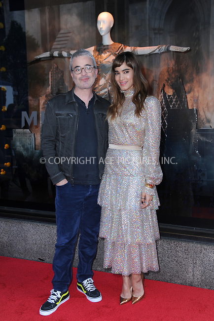 www.acepixs.com<br /> June 7, 2017  New York City<br /> <br /> Alex Kurtzman and Sofia Boutella attending Saks Fifth Avenue 'The Mummy' window display unveiling at Saks Fifth Avenue on June 7, 2017 in New York City.<br /> <br /> Credit: Kristin Callahan/ACE Pictures<br /> <br /> Tel: 646 769 0430<br /> Email: info@acepixs.com
