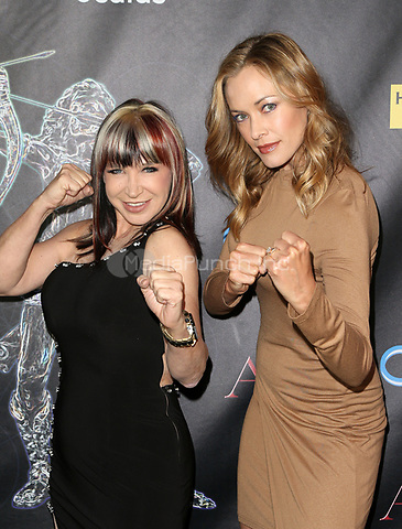 BEVERLY HILLS, CA - April 20: Cynthia Rothrock, Kristanna Loken, At Artemis Women in Action Film Festival - Opening Night Gala At The Ahrya Fine Arts Theatre In California on April 20, 2017. Credit: FS/MediaPunch
