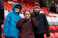 Fleetwood Town FC fans during the Sky Bet League 1 match between Charlton Athletic and Fleetwood Town at The Valley, London, England on 17 March 2018. Photo by Carlton Myrie.