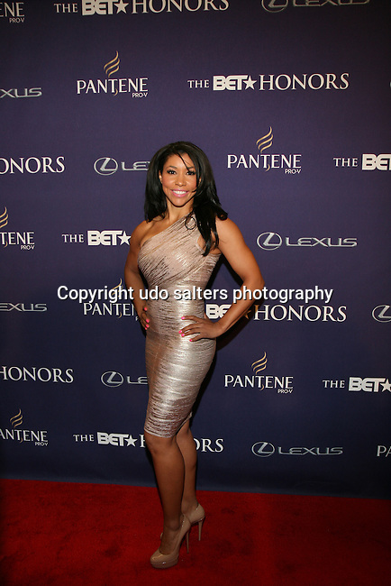 Personal Trainer Jeanette Jenkins Attends BET NETWORKS CELEBRATES BLACK EXCELLENCE WITH BET HONORS 2013 Hosted By Gabrielle Union<br /> Held at The Warner Theatre in Washington, D.C.  1/12/13