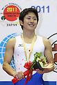 Tetsuya Sotomura (JPN), JULY 9, 2011 - Trampoline : 2011 FIG Trampoline World Cup Series Kawasaki Men's Individual Final at Todoroki Arena, Kanagawa, Japan. ..(Photo by YUTAKA/AFLO SPORT) [1040]