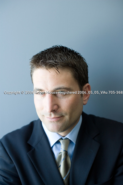 David Berman - VP Worldwide Sales - WebEx: Executive portrait photographs by San Francisco - corporate and annual report - photographer Robert Houser.
