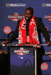 15 January 2009: O'Brian White was taken with the fourth overall pick by Toronto FC. The 2009 Major League Soccer SuperDraft was held at the Convention Center in St. Louis, Missouri in conjuction with the National Soccer Coaches Association of America's annual convention.