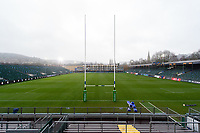 A general view of the Recreation Ground pitch. Heineken Champions Cup match, between Bath Rugby and Leinster Rugby on December 8, 2018 at the Recreation Ground in Bath, England. Photo by: Patrick Khachfe / Onside Images