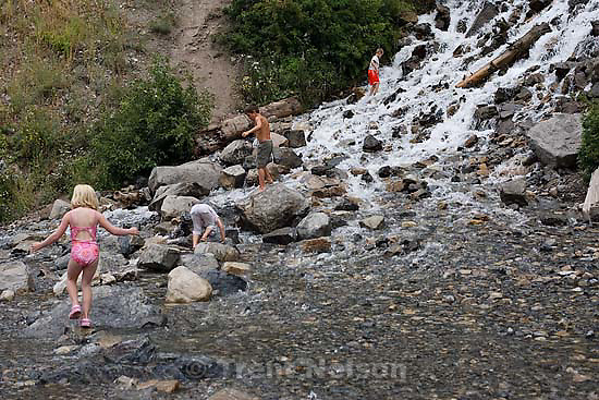 Provo Canyon -Bridal Veil Falls, Saturday August 8, 2009..