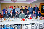 Members of the Iveragh Coast Guard Unit at their Christmas Party in the Ring of Kerry Hotel on Saturday night pictured front l-r; Noel O'Sullivan, Joe O'Driscoll, Patrick O'Connell, Simon Kelly, Jonathan Walsh, John Dowd, Tony Donnelly OIC, back l-r; Anthony O'Sullivan, Muiris Kelly, Patrick O'Donoghue, Pat O'Driscoll DOIC, Stephen O'Sullivan, Michael Moran, John Quirke & Danny Breen.