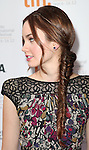 Liana Liberato attending the The 2012 Toronto International Film Festival.Red Carpet Arrivals for 'Writers' at the Ryerson Theatre in Toronto on 9/9/2012